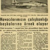 Havacılarımız Çalışkanlığı Başkalarına Örnek Oluyoruz (No. 27)