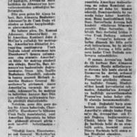 Adenauer'in Mektubu