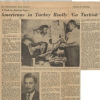 A Turk in America Says... Americans in Turkey Really 'Go Turkish'
