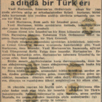 Vasil Harizanos Adında Bir Türk Eri