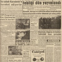 Eisenhower'in Görüşü ile Cumhuriyet Türkiye'si