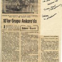 10'lar Grubu Ankara'da