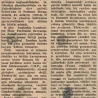 CHP'linin Ödevi