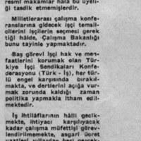 Hakkını Arayan Türk İşçisi