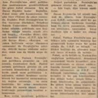 Prof. Feyzioğlu'nun Durumu ve Politikamızın Bir Meselesi