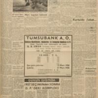1957 Seçiminden Sonra DP'deki Kompleks